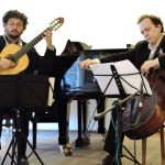 Anton Andreev and Aaron at the St. Petersburg Conservatory