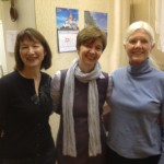 Director Ludmilla Leibman, Director Elena Barash and EBP Board Member Barbara Turnow