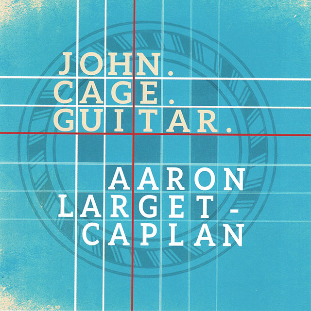 John. Cage. Guitar. Album cover
